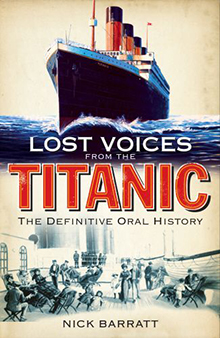 Lost Voices of the Titanic front cover