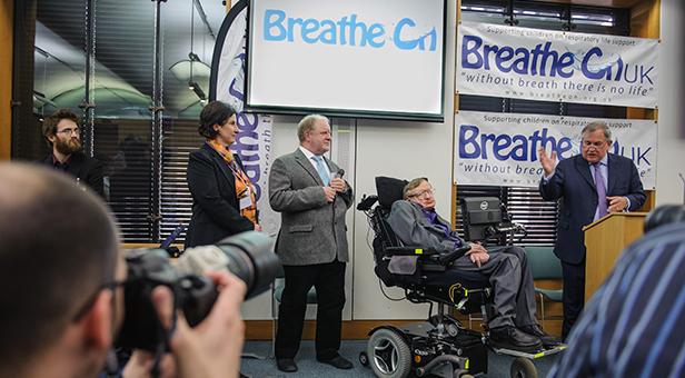 Victoria Townsend, Patrick Padget, Professor Stephen Hawking, Robert Walter MP