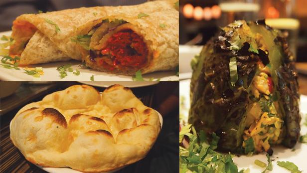Seekh kebab, naan & Spice of India special