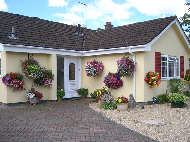 Best use of hanging baskets