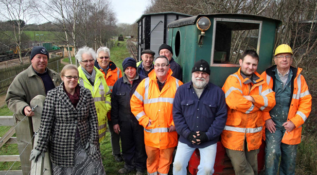 Purbeck Mineral and Mining Museum volunteers
