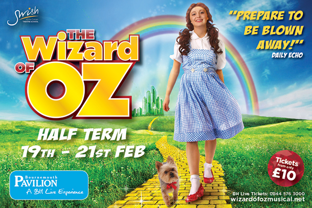 Swish of the Curtain: Wizard of Oz