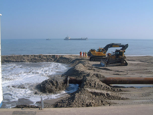 Bournemouth Beach replenishment